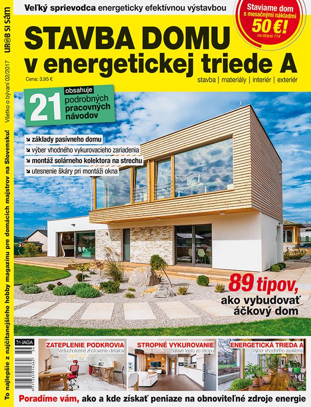 Stavba domu v energetickej triede A