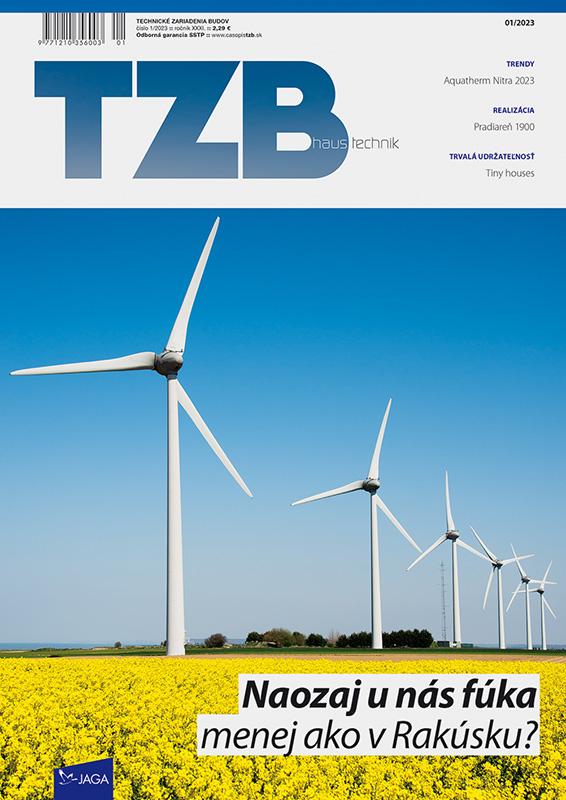 Ročné predplatné TZB Haustechnik